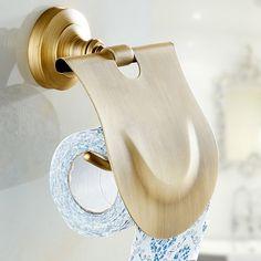 23.80$ Buy now - European Solid Brass Toilet Paper Holders Phone ...
