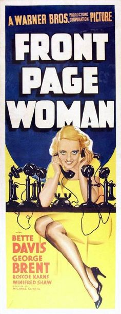 Pictures & Photos from Front Page Woman (1935) - IMDb