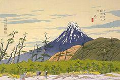 「昭和東海道五十三次」(原 秋晴)1931年