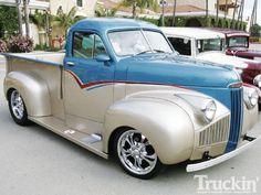 Hot Rod Trucks, Cool Trucks, Chevy Trucks, Pickup Trucks, Cool Cars, Custom Trucks, Custom Cars, Classic Trucks, Classic Cars
