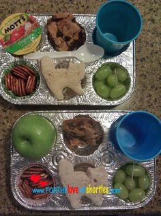 Loving these great muffin tin lunches!!