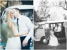www.vanillaphotography.co.za   Durban Wedding Photographer, Durban Midlands, The Glades wedding venue, bridal shoot, bridal portrait, bride & groom, vintage VW combi, black & white portrait, lace wedding dress, low back, boho bride, boho wedding dress
