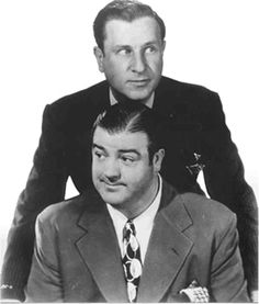 We've been called a modern day Abbot and Costello. Couldn't ask for higher praise! One of the funniest comedy duos to ever live. Abbott And Costello, Classic Comedies, Classic Movies, Golden Age Of Hollywood, Old Hollywood, I Movie, Movie Stars, Burlesque, Famous Duos