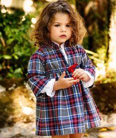 LANIDOR.COM - Shop Online | VESTIDO Little Girl Skirts, Cute Little Baby Girl, Cute Little Girls Outfits, Kids Outfits, Fashion Kids, Little Kid Fashion, Toddler Fashion, Little Girl Haircuts, Sienna