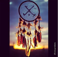 Field hockey dream catcher.