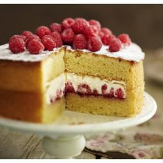 Victorian Suprise cake. Suprise filling. Could easy make this without expensive cake tins.