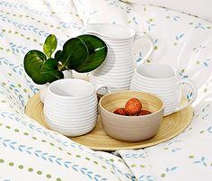 Bambusový dekorativní talíř