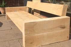 HomeMade Modern DIY Outdoor Sofa: 12 Steps (with Pictures) Diy Outdoor Furniture, Pallet Furniture, Garden Furniture, Outdoor Sofa, Outdoor Decor, Timber Furniture, Furniture Nyc, Cheap Furniture, Rustic Furniture