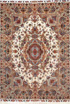 Tabriz Silk Persian Rug - Item# Custom order Size: 200 x 300 (cm)      6' 6 x 9' 10 (ft)