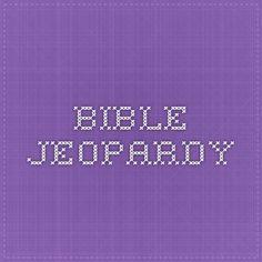 Bible Trivia  Sj Jeopardy Template  Bible ClassHappy Hearts