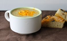 Yammie's Noshery: Broccoli Cheese Soup: Panera Bread Copycat Recipe--i'm addicted to this stuff