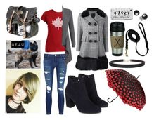 """""""Yuri!!! on Ice Oc ~ Maéve Coste {Out of Rink}"""" by awkward-goth ❤ liked on Polyvore featuring Los Angeles Pop Art, J Brand, Autumn Cashmere, Marc Jacobs, Lulu Guinness, Monsoon and Humble Chic"""