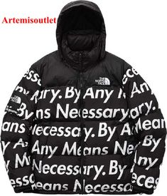 Supreme X THE NORTH FACE Nuptse Black Jacket Sale with Affordable Price.  10% off discount code : redditc
