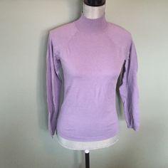 Talbots sweater Brand new Talbots purple super soft sweater. Perfect condition Talbots Sweaters Cowl & Turtlenecks