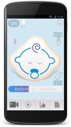 Best minimal design of Baby monitor app https://play.google.com/store/apps/details?id=mobi.hiplab.bm