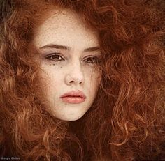 Redheads are the norm on this island. Redheaded girls have the prettiest hair. Some here call it Fire Hair..............