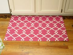 diy kitchen rug