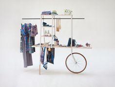 lungi carro - Mobile Kleiderstange ♥
