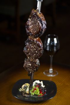 Picanha com Alho - Cap of Rump with Garlic www.vivabrazilrestaurants.com