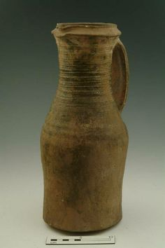 5660: jug Production date: Early Medieval; mid-late 12th century Measurements: H 354 mm