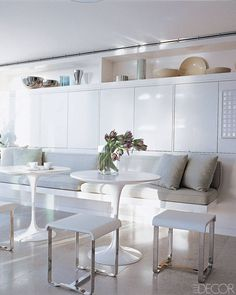Kitchen Banquette Seating - Photos of Built In Banquettes