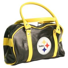 """Pittsburgh Steelers Low Profile Purse (Measures 12"""" x 7"""" x 4"""") by Little Earth. $17.90. Officially licensed. Measures 12"""" x 7"""" x 4"""". One internal zipper pocket, plus two open pockets. Makes a great gift item!. Show off your team spirit with this super cute and sport purse by Little Earth. This purse has an internal zipper pocket, plus two additional open pockets. Makes a great self purchase or gift item. Xx"""