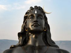 The world's largest bust sculpture celebrates the Hindu deity, Shiva.Recognized by the Guinness Book of World Records as the world's largest bust sculpture, the Adiyogi statue depicts the Hindu deity, … Shiva Art, Shiva Shakti, Krishna Art, Rudra Shiva, Shri Ganesh, Hanuman, Lord Krishna, Lord Shiva Hd Wallpaper, Shiva Meditation
