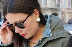 sweet & spark #statement #vintage #jewelry #earrings