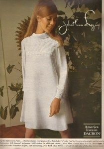 1967 Seventeen magazine ad, Joshua Logan dress