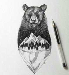 With tiny, precise pen strokes and careful cross-hatching, Italian artist Alfred Basha captures the complexity of natural life. His drawings interweave ani Pen Illustration, Ink Illustrations, Alfred Basha, Animal Drawings, Art Drawings, Art D'ours, Stylo Art, Culture Art, Kunst Tattoos