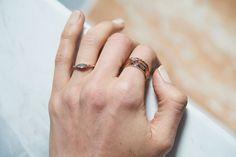 Dear Rae | Fancy Pants Diamond Ring Collection  #DearRae #DearRaeJewellery #DiamondRings #ColourDiamonds #EngagementRings #TrilogyRing #GreyDiamondRing