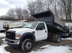 2009 Ford F450 Super Duty Dump Truck For Sale in Queensbury, NY A00004 | Want Ad Digest Classified Ads Dump Trucks For Sale, Wanted Ads, Heavy Construction Equipment, Logging Equipment, Heavy Duty Trucks, Tow Truck, Cool Trucks, 4x4, Ford