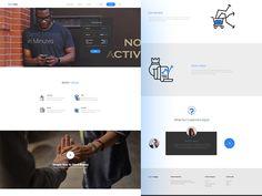 Homepage Design for RemiStar