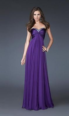 Sheath Chiffon Sweetheart Long Dress Charm86049