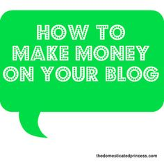 What I Wish I Knew: How to Monetize Your Blog
