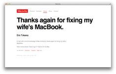 Testimonial by Eric Tokarso - http://www.macjunky.nl/eric-tokarso/  #Freelance #Apple #Mac #IT #Consultant #Repair #Support #Data #Recovery #MacJunky #Amsterdam
