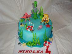 cake - dort Spongebob