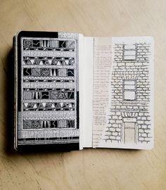 Rebecca Blair moleskine sketchbook 03, #091