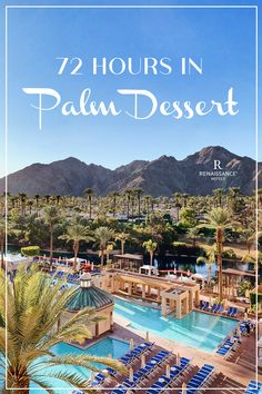 The newly renovated Renaissance Esmeralda Resort & Spa is a must visit while in the California Desert! Travel Supplies, Palm Desert, California Travel, Resort Spa, Vacation Destinations, Oh The Places You'll Go, West Coast, Family Travel, Renaissance