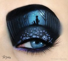 "upinthenorthwest: "" sixpenceee: "" Tal Peleg creates eye-art, she uses her own eye as the canvas, and makeup products as my paint. Eye Makeup Designs, Eye Makeup Art, Eye Art, Fairy Makeup, Mermaid Makeup, Makeup Ideas, Halloween Eye Makeup, Halloween Eyes, Most Beautiful Eyes"