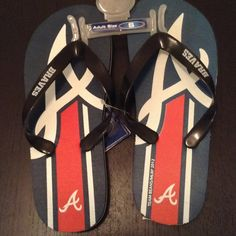 NEW A BRAVES FLIP FLOP SIZE ADULT S · BRAND NEW UNWORE NO BOX NO PRICE TAG · SIZE ADULT S ( PLEASE SEE SIZE CHART) · DESCRIPTION: A BRAVES FLIP FLOP    ⭐️TOP RATED SELLER FAST SHIPPER ❌NO TRADE ❌NO PAYPAL ✅BUNDLE OFFER    WILL SHIP WITH NO BOX JUST WRAPPING FOR SHOES  Shoes
