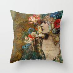 Scheherazade Throw Pillow by Aimee Stewart. Bohemian Design, Bohemian Decor, Down Pillows, Throw Pillows, Moroccan Design, My Favorite Image, Eclectic Decor, Pillow Talk, Decoration