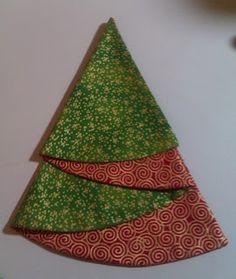 A Charmin' Time: Christmas Tree Napkin Tutorial