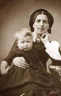 Joanna SPYRI (1827–1901)   --  She was a Swiss author of children's stories, and is best known for her book Heidi. As a child she spent several summers in the area around Chur in Graubünden, the setting she later would use in her novels.