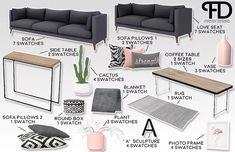 Build A PC 690669292842735060 - sims 4 cc // custom content clutter decor furniture // Ellos Living Room Living Room Sims 4, Sims 4 Cc Furniture Living Rooms, Sims 4 Bedroom, The Sims 4 Pc, Sims Four, Sims Cc, Sims 4 Beds, Sims 4 Mods Clothes, Muebles Sims 4 Cc