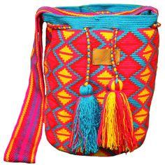 Handmade wayuu mochila bag - Cosita