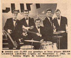 THE SHADOWS-CLIFF