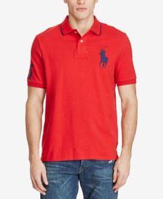 POLO RALPH LAUREN Polo Ralph Lauren Men'S Classic-Fit Big Pony Polo. #poloralphlauren #cloth # polos
