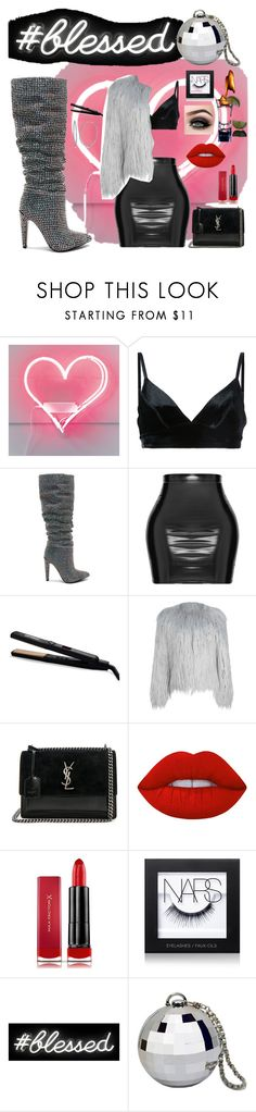 """""""Hitting the town Single💋👅 on Vday"""" by patick ❤ liked on Polyvore featuring Manning Cartell, Steve Madden, amika, WithChic, Yves Saint Laurent, Lime Crime, Max Factor, NARS Cosmetics, ASAP and Oliver Gal Artist Co."""
