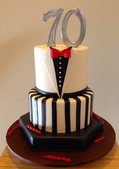 54 Ideas Birthday Cake For Dad Father Kids Cake Decorating Frosting, Cake Decorating Designs, Cake Designs, Cake Cookies, Cupcake Cakes, Birthday Cakes For Men, Cake Birthday, 50th Birthday, Gateaux Cake